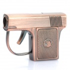 Cool Gun Pistol Style Zinc Alloy Windproof Butane Jet Torch Lighter
