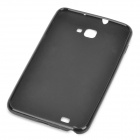 Protective Rubber PVC Case for Samsung Galaxy Note i9220 / GT-N7000 - Black