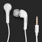 Genuine Samsung Galaxy Note i9220 GT-N7000 In-Ear Earphone w/ Microphone - White(125cm / 3.5mm Jack)