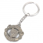 Cool Manchester United FC Logo Keychain - Bronze