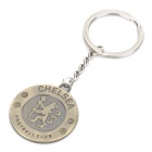 Cool Chelsea Football Club Logo Keychain - Bronze
