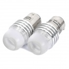 3W 180LM 6000-6500K White Light 1-LED Brake Light Bulb for Car (DC 12-24V / Pair)