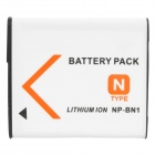 Replacement NP-BN1 3.6V 630mAh Battery Pack for Sony DSC-TX7 / DSC-W310 + More
