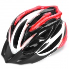 Cool Sports Cycling Helmet - Red + White + Black (58~63cm)