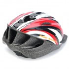 Cool Sports Cycling Helmet - Red + Black + Grey (58~63cm)