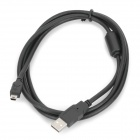 480Mps USB Connection Cable - Black (1.5M-Cable Length)