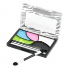 Portable Cosmetic Make-Up 5-Color Eye Shadow Kit - Random Color