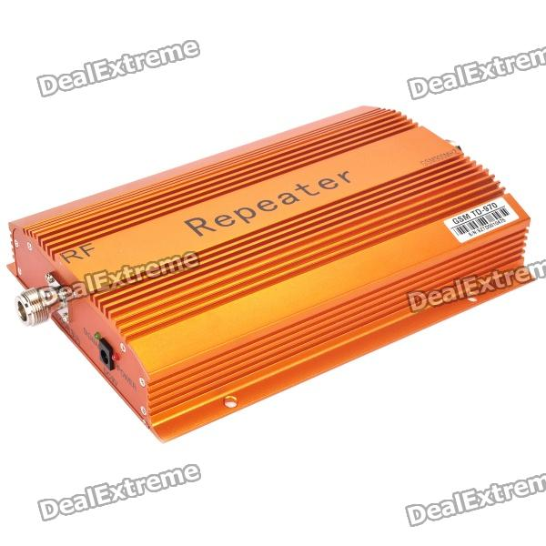 GSM 890~915MHz / 935~960MHz Mobile Phone Signals Booster Repeater (60dB)Signal Booster<br>Model:Network DetailsGSMForm  ColorOrangeAntennaNoPacking List<br>