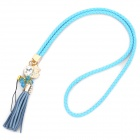 Fashion PU Cell Phone Neck Strap Lanyard - Random Color