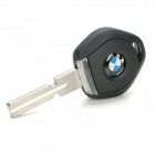 Replacement Transponder Smart Key Casing with Yellow LED Light for BMW (1 x CR2025)