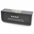 Mini 2800mAh Emergency Battery Pack for iPhone 3G / 3GS / 4 / 4S / iPod - Black