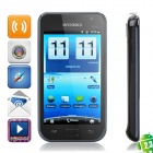 "X19i Android 2.3 WCDMA TV Smartphone w/ 4.1"" Capacitive, Wi-Fi and GPS - Black"