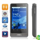 "H8 Android 2.3 GSM Smartphone w/ 3.2"" Capacitive, Dual SIM, Quad-band and Wi-Fi - Grey"