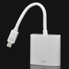 Mini DisplayPort DP Male to VGA Female Adapter Cable - White