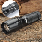 W-878 XML T6 5-Mode 700LM White LED Zoom Convex Lens Flashlight w/ Strap (1x18650 / 3xAAA / 1x26650)