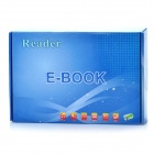 "7.0"" Resistance Touch Screen E-Book Reader Music/Video Media Player w/TF - White + Black (4GB)"