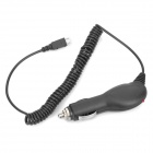 Car Cigarette Powered Charger for HTC Sensation XL / X315E / G21 - Black (12~24V)