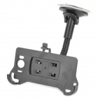 Car Swivel Mount Holder with Suction Cup for HTC Sensation XL / X315E / G21 - Black