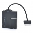 Multifunctional 5-in-1 Card Reader for Samsung Galaxy P7500/P7510/P7300/P7310 - Black (Max. 16GB)