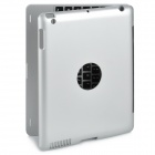 Bluetooth 3.0 Wireless Keyboard w/ Case for IPAD 2 - Silver + Black