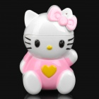 Stylish Cool Hello Kitty Style Windproof Gas Lighter - White + Pink (1 x SR626SW)