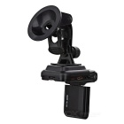 "2.0"" LCD 5.0 MP Wide Angle 4X 1080P Zoom Digital Car DVR Camcorder w/ Mini USB/HDMI/TF Card - Black"