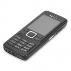 "Refurbished Nokia 6300 GSM Bar Phone w/2.0"" TFT LCD, Single SIM, Quadband and FM - Black"