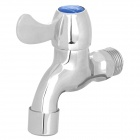 Modern Copper Faucet Water Tap with Filter Net - Silver
