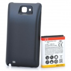 Replacement 5200mAh Battery + Protective Back Cover for Samsung i9220 - Black + Red