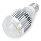 E27 7x1W 630Lumen 3000~3500K 7-LED Warm White Candle Light Bulb (85~240V)