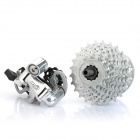 Mountain Bicycle 3-Speed Hub + 11~25T 9-Speed Cassette + Rear Derailleur Set