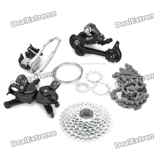 27 Speed Mountain Bike Left Right Shifters Front Back