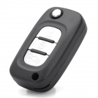 Replacement Folding 3-Button Remote Key Shell Case for Renault