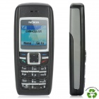 "Refurbished Nokia 1600 GSM Bar Phone w/ 1.2"" TFT LCD, Dualband - Black"