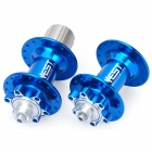 Genuine AEST YMHU32A-19/YMHU32A-20 Mountain Bike Bicycle Hubs - Blue (Front + Rear)