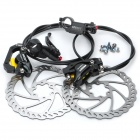 Genuine AEST YHDB540 Bike Bicycle Hydraulic Disc Brake - Black (Front + Rear)