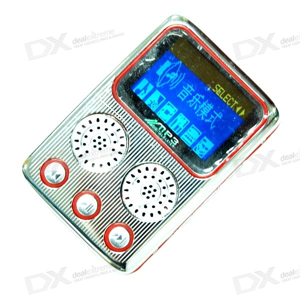 1.4-inch Matrix LCD MP3 Player with Voice Recorder (1GB)