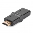 HDMI Male to HDMI Female Rotatable Adapter - Black