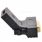 HDMI Female to DVI Male Adapter - Black