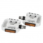 WELLGO Aluminum Alloy Bike Bicycle Pedals - White (Pair)