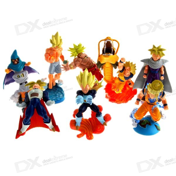 Dragon Ball Anime Figures (8-Figure Set) huong anime megahouse dragon ball 22cm dod piccolo pvc action figure collectible toy brinquedos model christmas gift