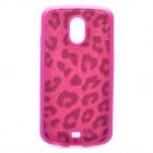 Leopard Pattern Protective Back Case for Samsung i9250 - Purple