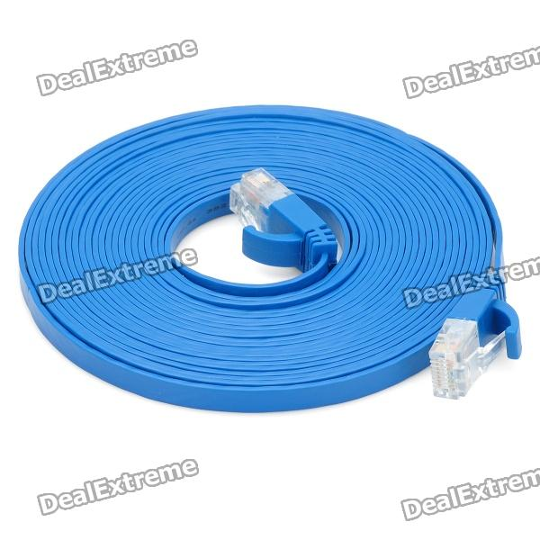 POWERSYNC Cat.6e RJ-45 Stranded Flat Network Cable (500cm) cat 6e rj 45 stranded network cable 3m