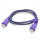 USB 2.0 Male to USB Male + Mini USB Male Connection Cable (50cm)