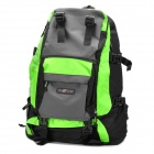 Multi-Function Outdoor Backpack - Green + Black