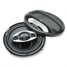 "DIY 6"" 400W Car Speakers with Mounting Accessories - Black (Pair)"