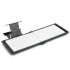 Portable Folding Bluetooth V2.0 80-Key Keyboard w/ Holder for iPad / iPad 2 / iPhone 4S