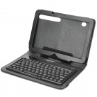 Protective PU Leather Case with Bluetooth V3.0 Keyboard for Motorola XOOM - Black