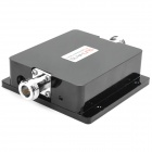 2.4~2.5 GHz 2.4V 3W (35DBM) Indoor Wireless Signal Booster Amplifier - Black (2-Flat-Pin Plug)