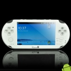 "V10 Android 2.3 5.0"" LCD Media Player Game Console w/ Dual Camera / WiFi / TV-out - White (4GB)"